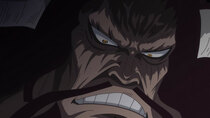 One Piece - Episode 887 - An Explosive Situation! Two Emperors of the Sea Going After Luffy!