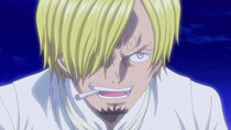 One Piece - Episode 877 - The Parting Time! Pudding's Last Wish!