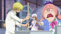One Piece - Episode 875 - A Captivating Flavor! Sanji's Cake of Happiness!