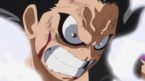 One Piece - Episode 870 - A Fist of Divine Speed! Another Gear Four Application Activated!