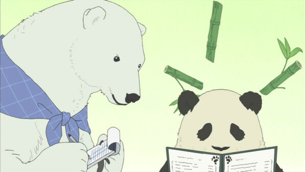 Shirokuma Cafe - Ep. 1 - Polar Bear's Cafe