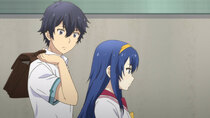 Kono Yo no Hate de Koi o Utau Shoujo Yu-no - Episode 14 - The Transfer Student's Friend