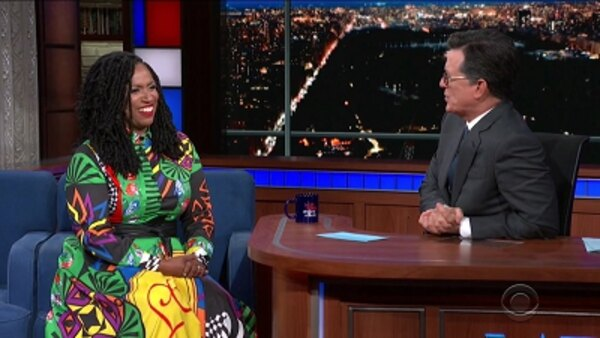 The Late Show with Stephen Colbert - S04E193 - Jada Pinkett Smith, Rep. Ayanna Pressley, Goo Goo Dolls