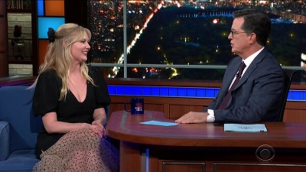 The Late Show with Stephen Colbert - S04E195 - Kirsten Dunst, Adam Devine, Lee Pace