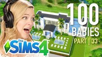 The 100 Baby Challenge - Episode 33 - Single Girl Picks A Fan's Home For Her Babies In The Sims 4 |...