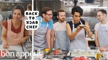 Back to Back Chef - Episode 20 - The Try Guys Try to Keep Up with a Professional Chef