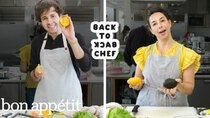 Back to Back Chef - Episode 21 - David Dobrik Tries to Keep Up with a Professional Chef | Back-to-Back...