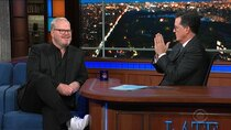The Late Show with Stephen Colbert - Episode 1 - Jim Gaffigan, Ann Curry