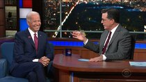 The Late Show with Stephen Colbert - Episode 2 - Vice President Joe Biden, Pixies