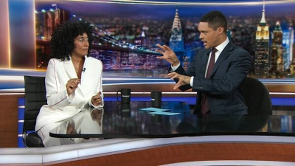 The Daily Show - S24E147 - Steve Bullock & Tracee Ellis Ross