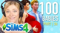 The 100 Baby Challenge - Episode 36 - Single Girl Reviews Fan Submitted Daddies In The Sims 4 | Part...