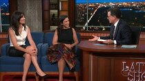 The Late Show with Stephen Colbert - Episode 5 - Ansel Elgort, Jodi Kantor, Megan Twohey