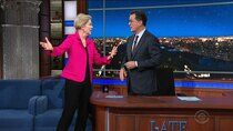 "The Late Show with Stephen Colbert - Episode 9 - Senator Elizabeth Warren, The cast of ""The Brady Bunch"""