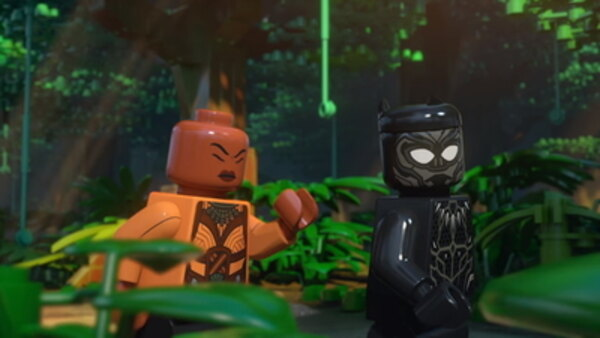 LEGO Marvel Super Heroes: Maximum Overload! - S04E03 - Black Panther Trouble in Wakanda: The Maze Of Tal-Recs