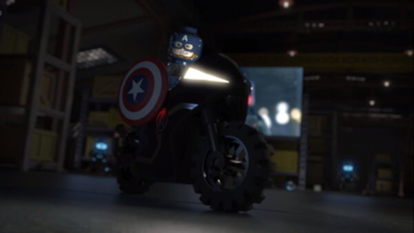 LEGO Marvel Super Heroes: Maximum Overload! - S02E02 - Avengers Reassembled: Captain America Gets Punny!
