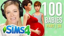The 100 Baby Challenge - Episode 38 - Single Girl Raises A Troll In The Sims 4 | Part 38