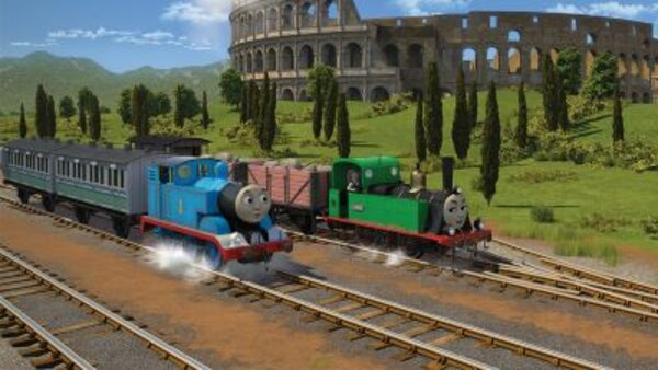 Thomas The Tank Engine & Friends - S23E22 - All Tracks Lead to Rome
