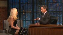 Late Night with Seth Meyers - Episode 2 - Gwen Stefani, Bradley Whitford, Emily Spivey