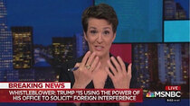 The Rachel Maddow Show - Episode 187 - September 26, 2019