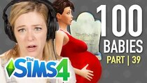 The 100 Baby Challenge - Episode 39 - Single Girl Mourns Her Child's Death In The Sims 4 | Part 39