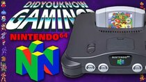 Did You Know Gaming? - Episode 327 - Nintendo 64 (N64) Secrets & Censorship