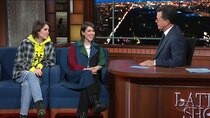 The Late Show with Stephen Colbert - Episode 17 - Patricia Heaton, Tegan and Sara