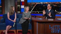 The Late Show with Stephen Colbert - Episode 18 - Hillary Rodham Clinton, Chelsea Clinton, Wilco