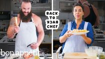 Back to Back Chef - Episode 22 - WWE Superstar Braun Strowman Tries to Keep Up with a Professional...