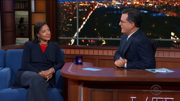 The Late Show with Stephen Colbert - S05E23 - Neil deGrasse Tyson, Susan Rice