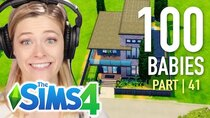 The 100 Baby Challenge - Episode 41 - Single Girl Picks A Fan-Made Home For Her Babies In The Sims...