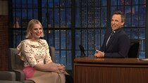 Late Night with Seth Meyers - Episode 12 - Sam Rockwell, Lucy Boynton, Les Savy Fav