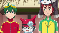Digimon Universe: Appli Monsters - Episode 33 - The Teen CEO! Unryuji Knight Appears!