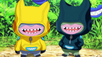 Digimon Universe: Appli Monsters - Episode 11 - Dive in to the Sea of the 'Net! Follow the Super Hacker, Rei!