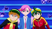 Digimon Universe: Appli Monsters - Episode 9 - Aim for Number One! Appmon Championship in Cyber Arena!