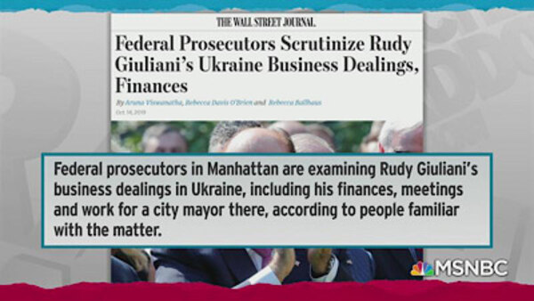 The Rachel Maddow Show - S2019E199 - October 14, 2019