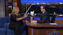 The Late Show with Stephen Colbert - Episode 32 - Queen Latifah, Radhika Jones