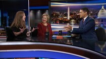 The Daily Show - Episode 16 - Hillary Rodham Clinton & Chelsea Clinton