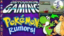 Did You Know Gaming? - Episode 334 - A Complete History of Pokemon Rumors