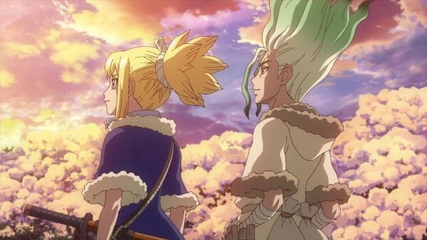 Dr. Stone - Ep. 24 - Voices over Infinite Distance