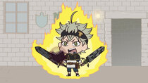 Mugyutto! Black Clover - Episode 1 - Tell us, Wizard King! How Can We Become the Wizard King?!