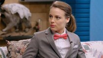 Comedy Bang! Bang! - Episode 12 - Gillian Jacobs Wears a Gray Checkered Suit and a Red Bow Tie