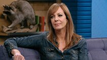 Comedy Bang! Bang! - Episode 15 - Allison Janney Wears a Chambray Western Shirt and Suede Fringe...