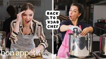 Back to Back Chef - Episode 23 - Hailee Steinfeld Tries to Keep Up with a Professional Chef
