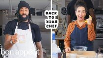 Back to Back Chef - Episode 24 - DeAndre Jordan Tries to Keep Up with a Professional Chef