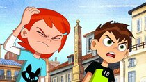 Ben 10 - Episode 3 - Ben in Rome, Part 1: A Slice of Life