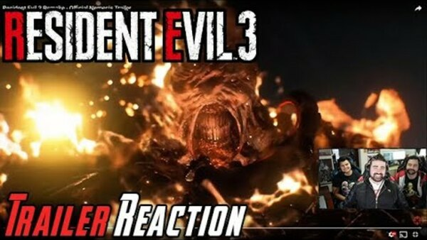 The Angry Joe Show - S2020E12 - Resident Evil 3 Remake - Angry Trailer Reaction!
