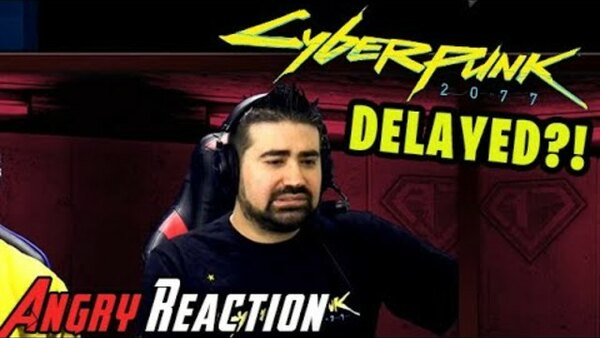 The Angry Joe Show - S2020E14 - Cyberpunk 2077 Delayed from April to September 2020! NOOOOOO!