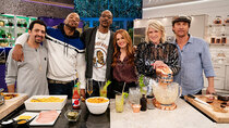 Martha & Snoop's Potluck Dinner Party - Episode 1 - 4/20 Munchie Snackdown
