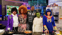 Martha & Snoop's Potluck Dinner Party - Episode 6 - Halloween Food Fight