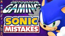Did You Know Gaming? - Episode 342 - Mistakes in Sonic Games